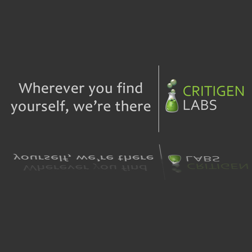 Critigen Labs.  Wherever you find yourself, we're there.